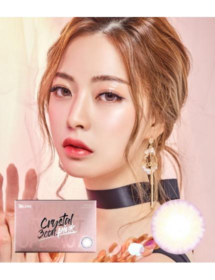 水晶3色粉紅 (1月拋/2片/盒) 크리스탈 3콘 핑크
