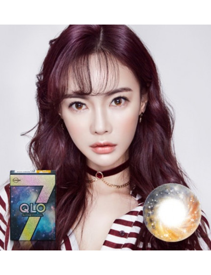 GLOBAL 7 Color Brown Silicone Hydrogel (1 month/2pc/box)클로 7컬러 브라운