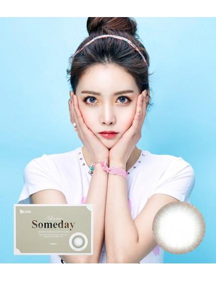 李聖經隱眼 Someday 灰 (1-3月拋 2片/盒) 썸데이 그레이