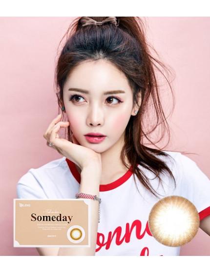 李聖經隱眼 Someday 棕 (1-3月拋 2片盒裝) 썸데이 브라운