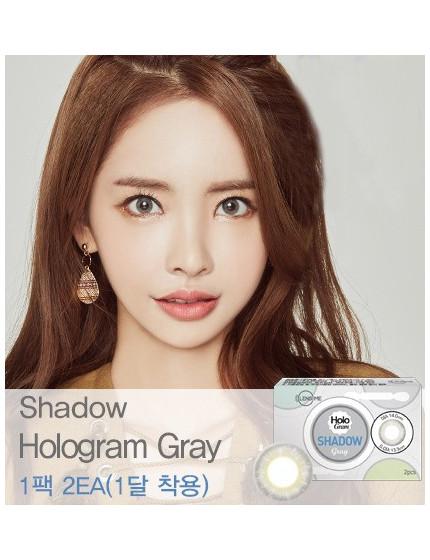 섀도우 홀로그램 그레이 Shadow Hologram grey (1 month)