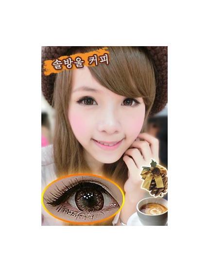 松果咖啡棕 (年拋/1片/瓶)