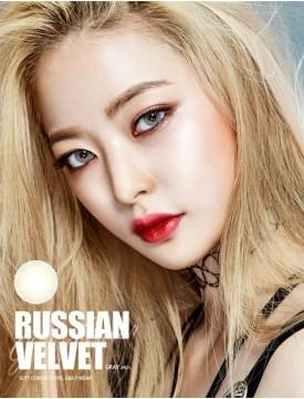 RUSSIAN Velvet Grey (1 month/ 2pcs/box) 러시안벨벳 그레이