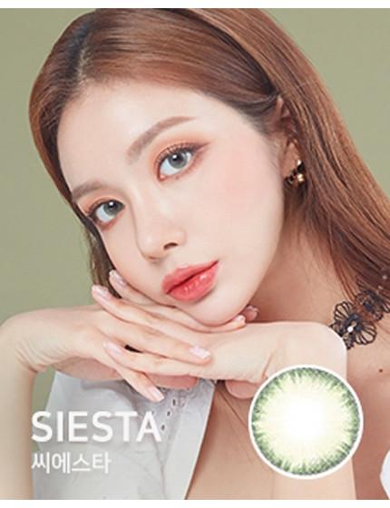SIESTA 5色 (1月抛/5片/盒)